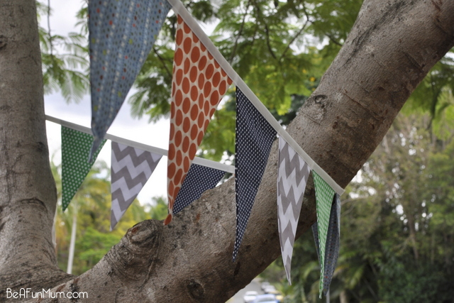 Material Bunting - patterns