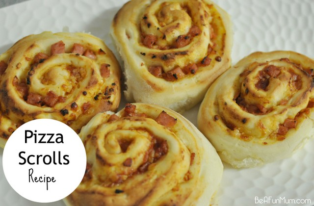 Lunch Box: Pizza Scrolls Recipe