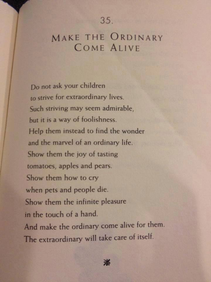 make the ordinary come alive by William Martin