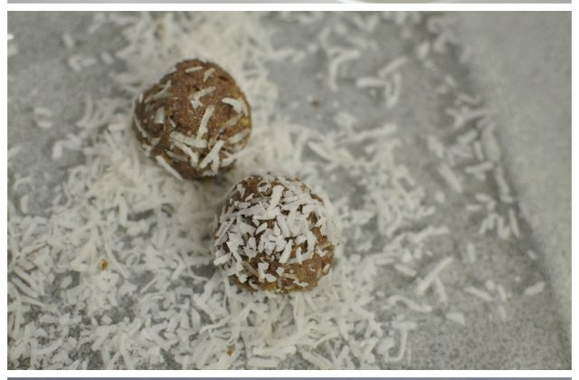 Apricot & Ginger Balls