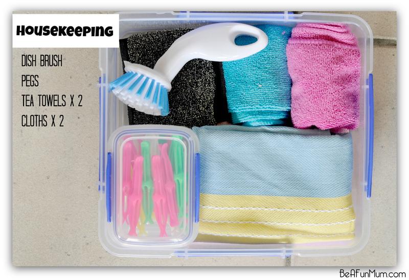 camping - housekeeping