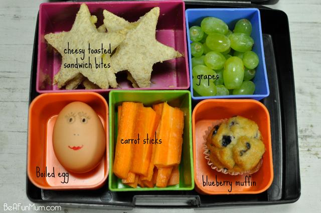 lunch box ideas - cheesy toasted sandwich biites