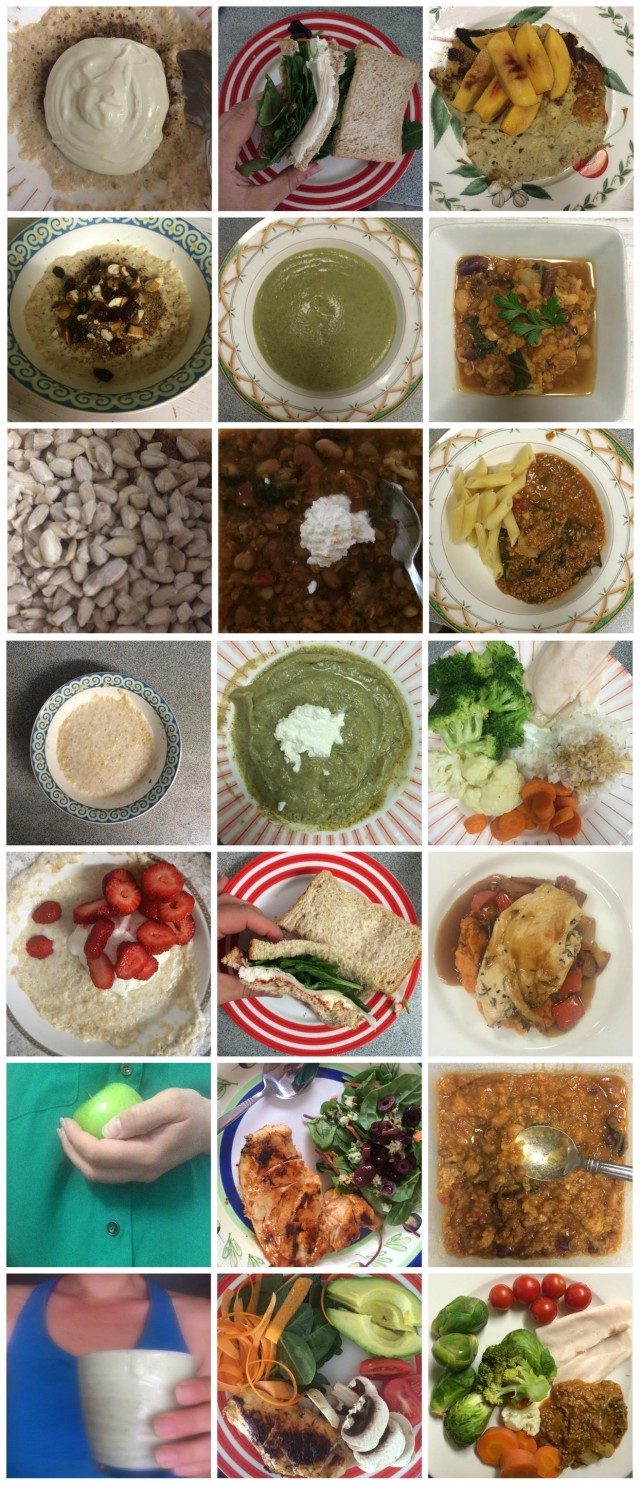 Cleaner Eating -- week 8