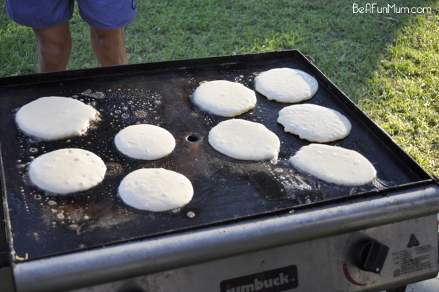 Camping Food: Pre-Made Pancake Mix - Cook on the BBQ