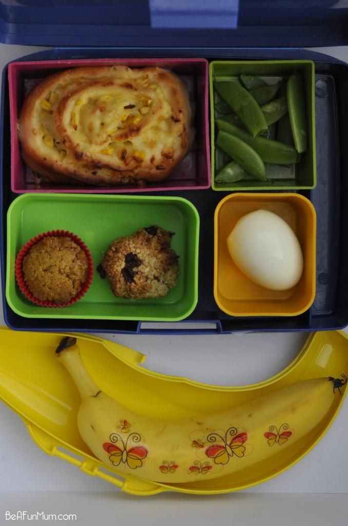 Banana Tattoo - fun lunch box idea