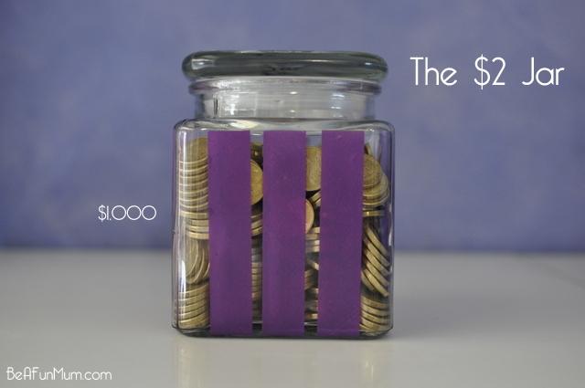 The $2 Jar - Start saving for Christmas