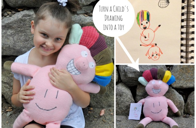 turn kids drawings into a toy