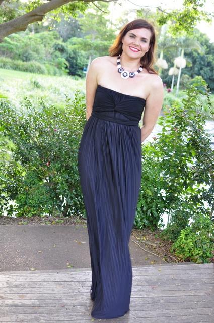 Sacha Drake Grecian Dress