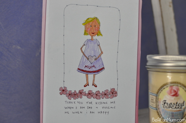 Mother's Day Card Printable - colouring in