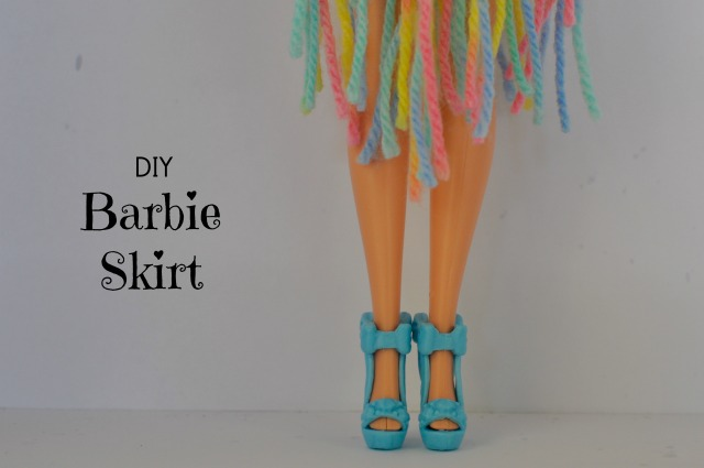DIY Barbie Skirt - no sew