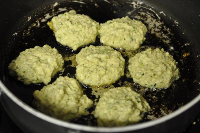 Zucchini & Parmesan Fritters Recipe