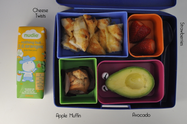 Lunch box ideas - nudie juice