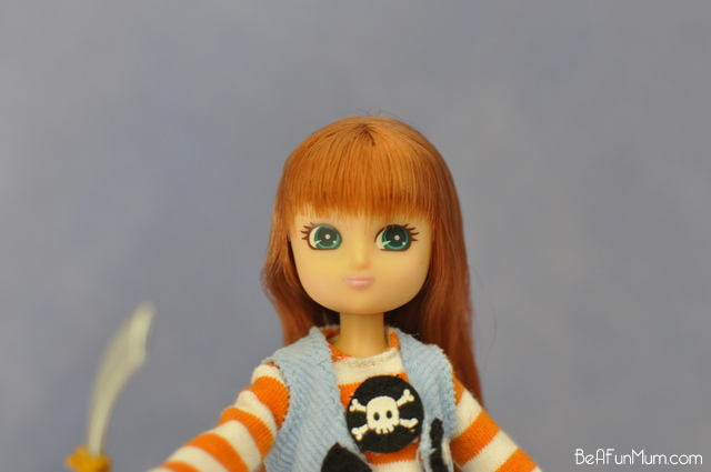 Lottie Doll - Pirate Queen - Face