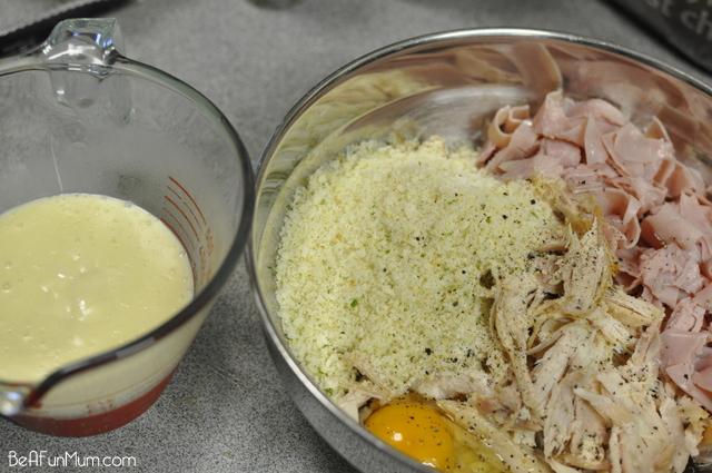 Chicken and Ham Pastie
