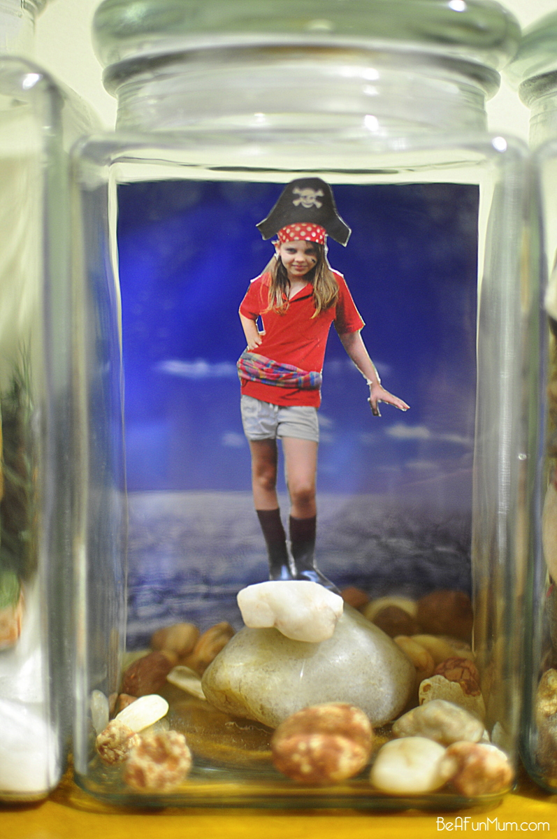 3D Photo in a Jar