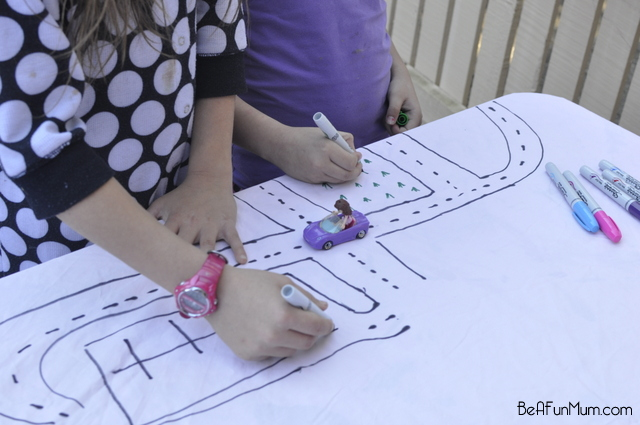 DIY Play Tablecloth