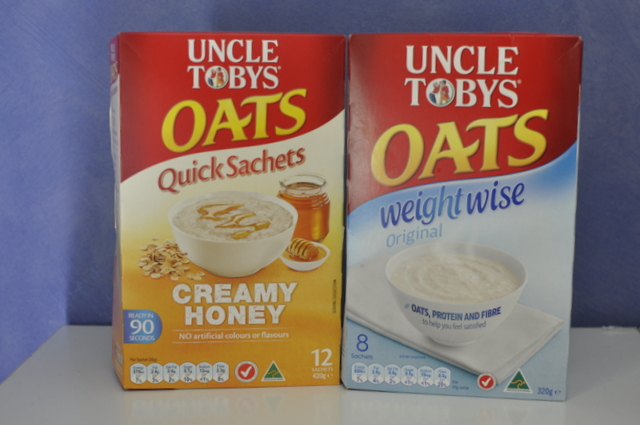 Uncle Tobys Oats