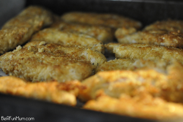 Crunchy Crumbed Chicken Recipe