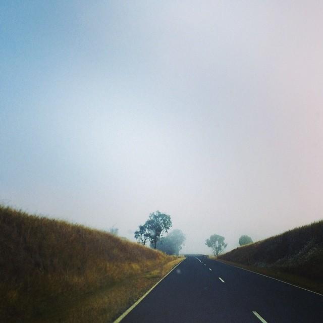 Drive through the fog