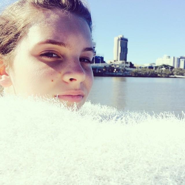Catching the Cit Cat Ferry in Brisbane