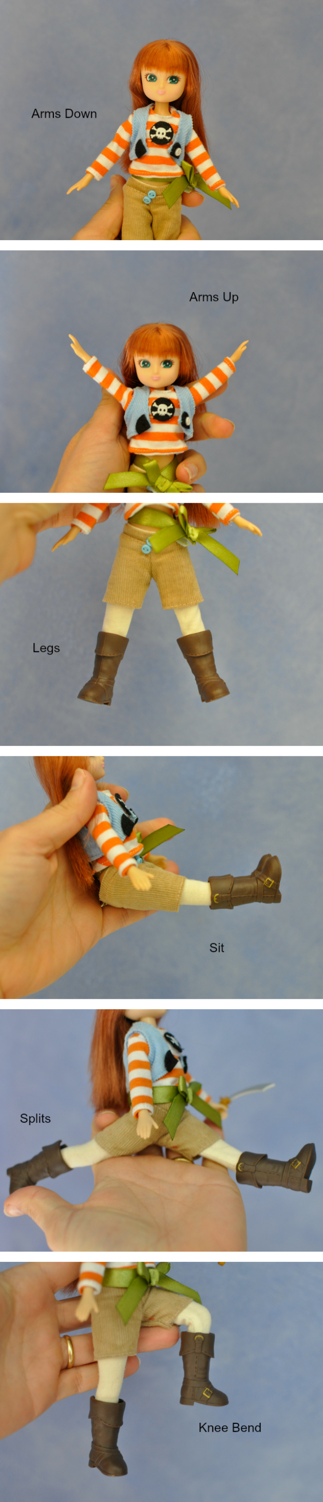 Lottie Doll - Movement and Flexibility