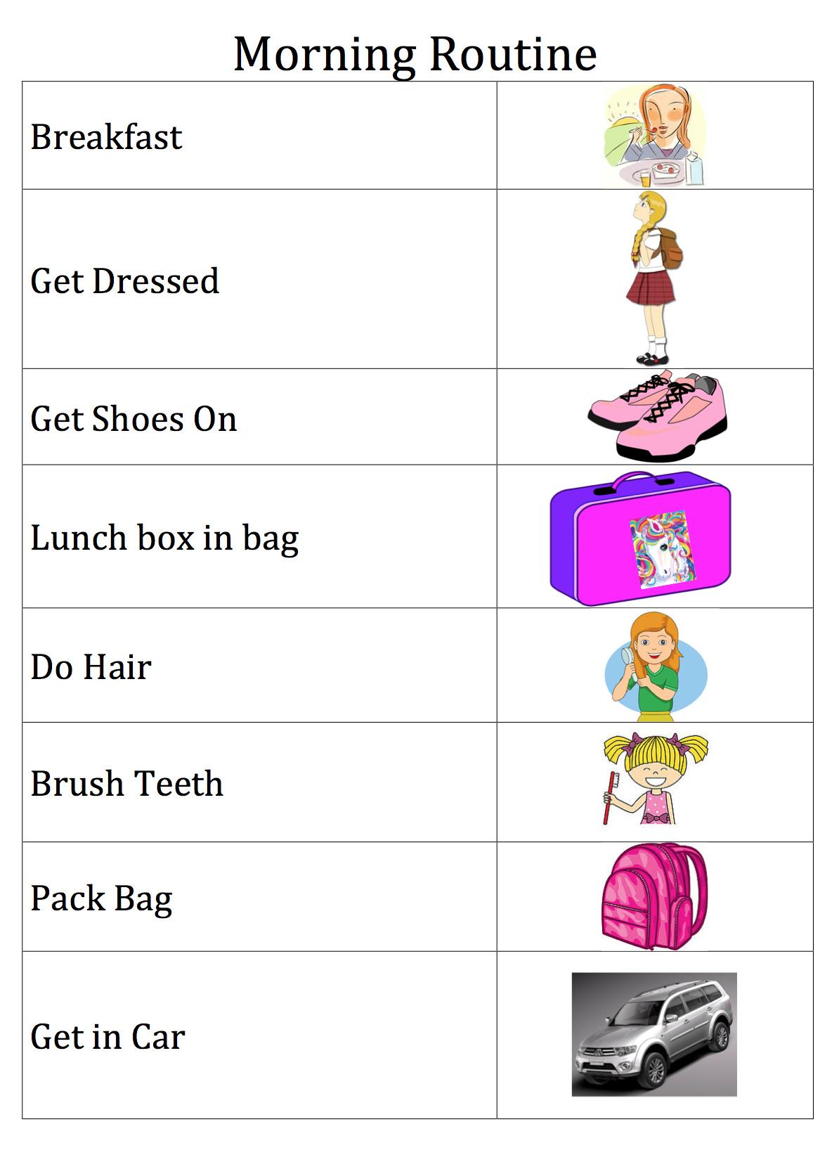 School Morning Harmony | Be A Fun Mum