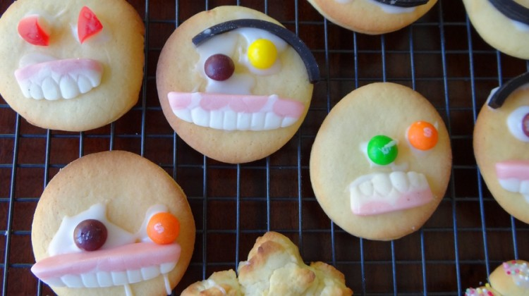 Funny Face Biscuits
