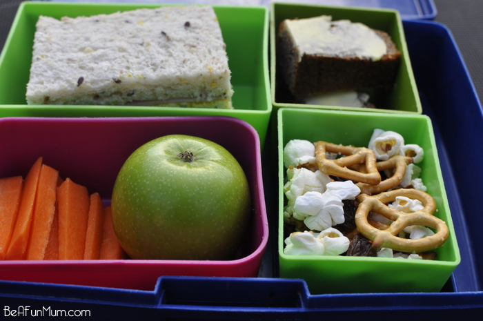 Lunch Box Ideas - Trail Mix (nut free)