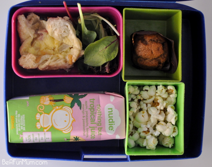 Lunch Box Ideas - popcorn