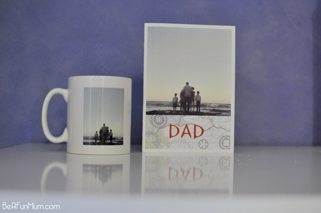 Personalised Photo Mug and Card for Father's Day