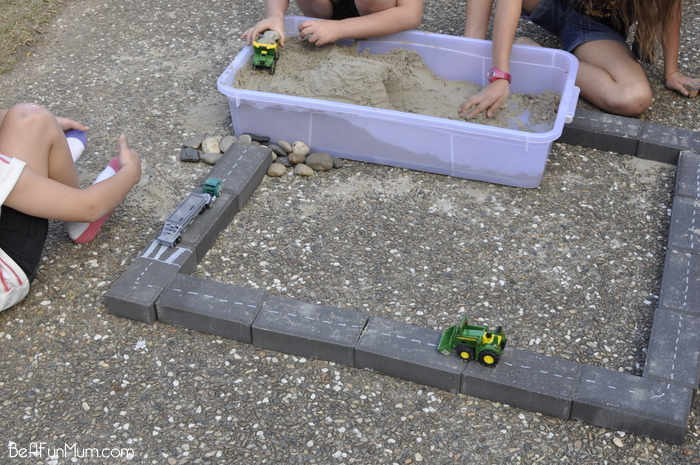 Imaginative Play - Paver Roads