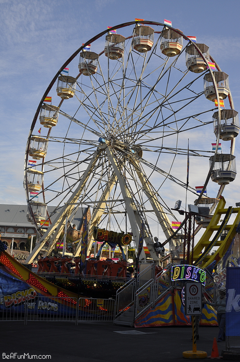 The EKKA - Brisbane Show - Rides
