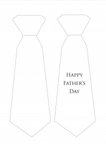 Simplicity image with regard to father's day tie template printable