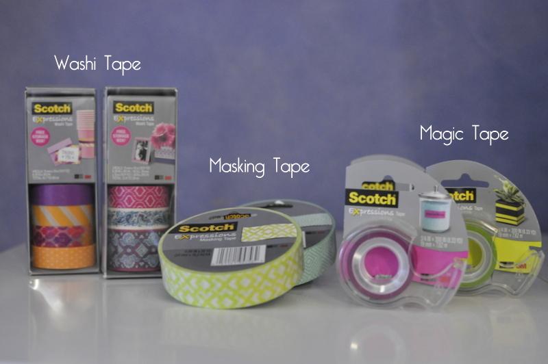 Washi Tape Birthday Party Decorations