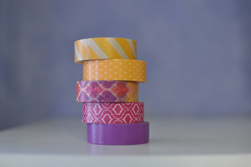 Washi Tape Colours