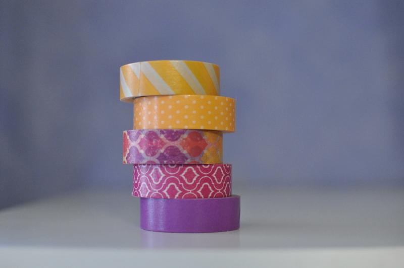 Washi Tape Colours