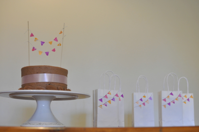 Washi Tape Birthday Party Decorations