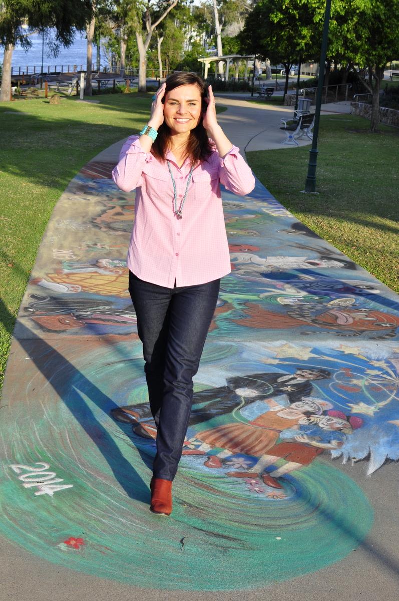 Chalk Drawings - Maryborough - Fraser Coast - Queensland