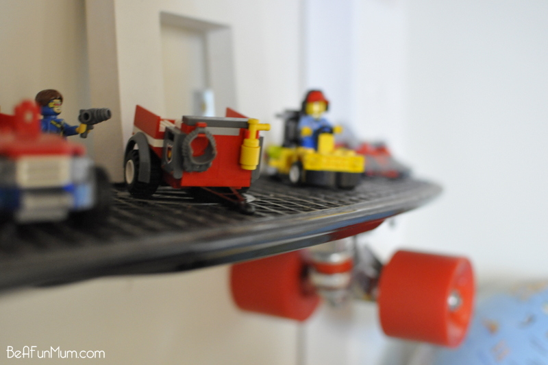DIY Skateboard Shelf