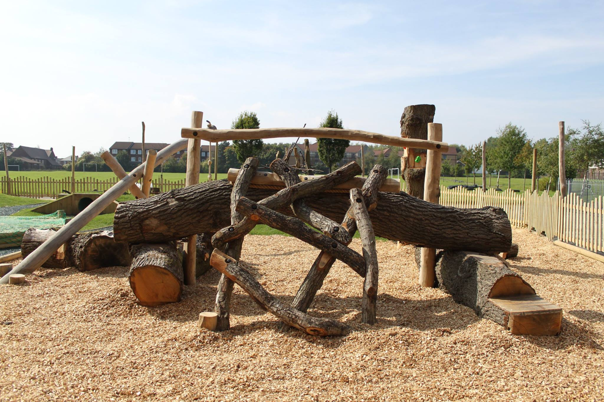 Nature inspired playground