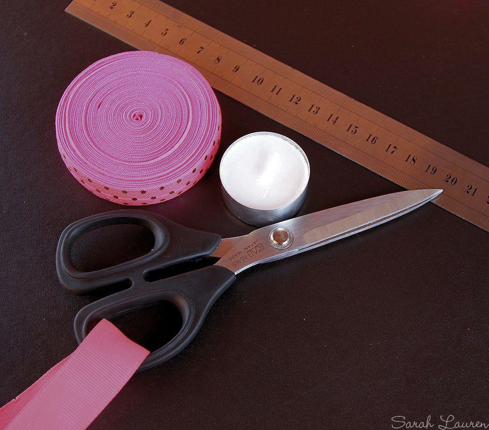 DIY FOE Hair tie