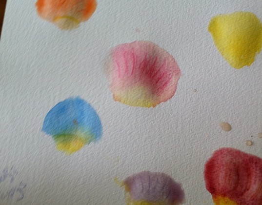 Simple Activity: Paint Rose Petals