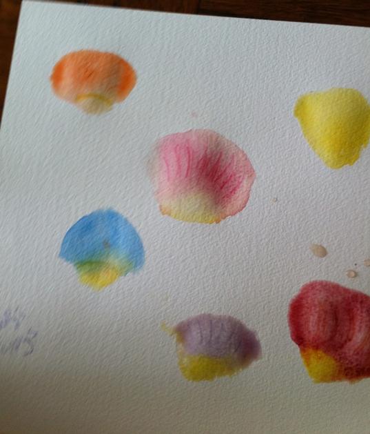 Painting Rose Petals