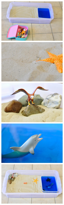 Imaginative Play: Sand & Sea Animals