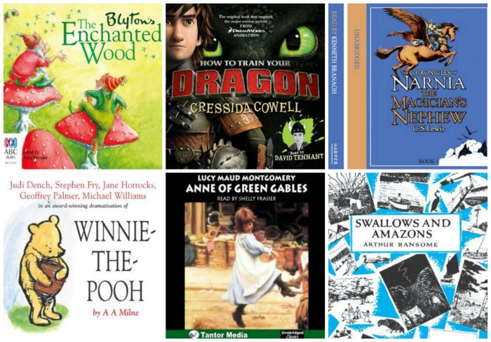 Top 10 Audio Books for Families