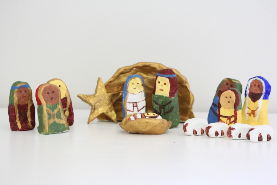 Diy Clay Nativity Scene Be A Fun Mum