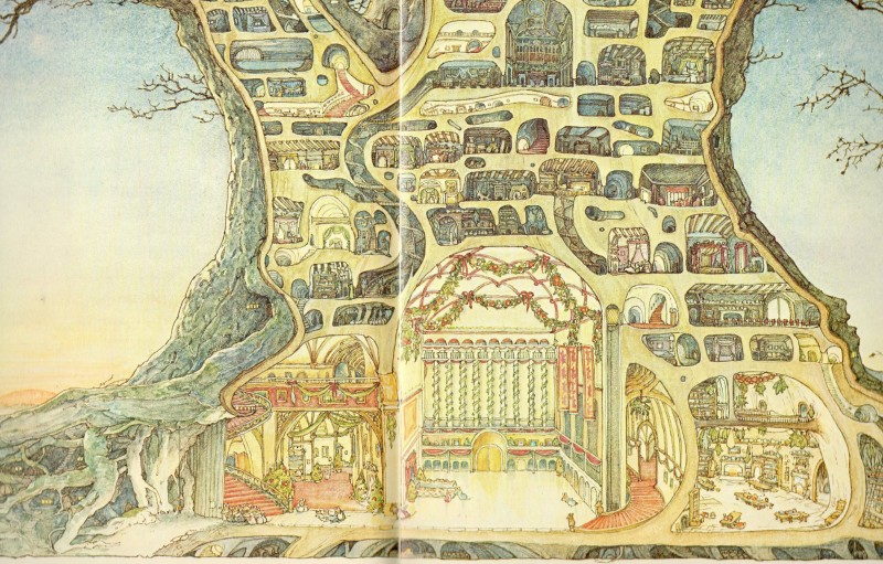 Brambly Hedge Illustration