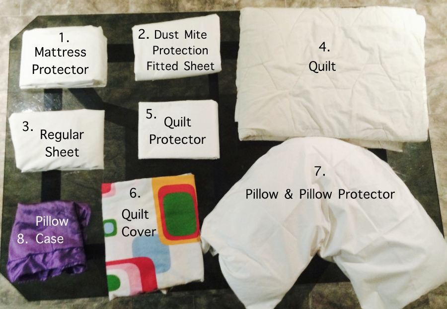 How to dust mite proof a bed