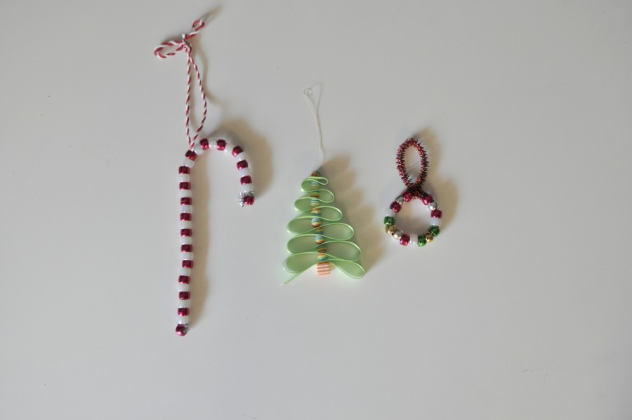 Bead Christmas Tree Decoration