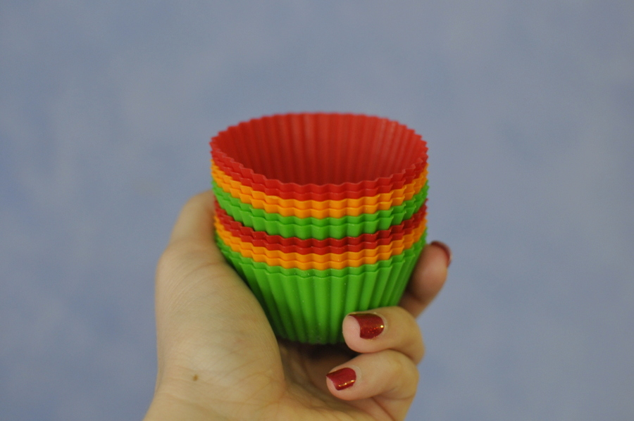 silicone patty cases - great for the lunch box